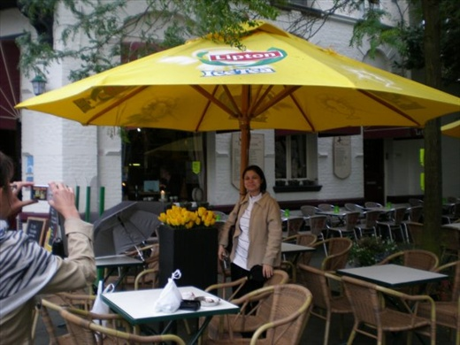 Beautiful roadside cafes