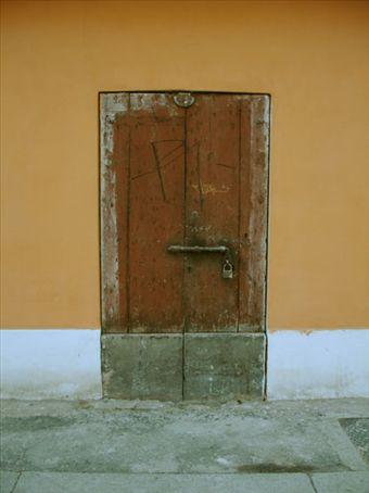 Nice old door...