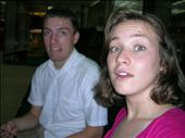 Tobin and Mal looking scared in the Delhi airport (where we spent 8 hours as the only white kids): by salvation_karmy, Views[283]