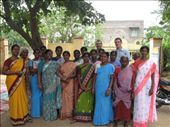 Josh and Billy with a group of women who received micro-credit loans from IGL.  they used these loans to buy cows, goats, or sewing machines.: by salvation_karmy, Views[262]