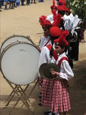 This band played the Indian national anthem. Mallory said it sounded like Indian traffic.: by salvation_karmy, Views[408]