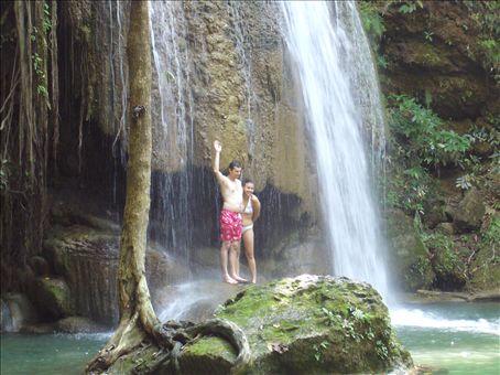 les chutes d'eaux (Simon et Cindy-lou)