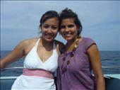 Cindy-lou et moi sur le speedboat: by sama, Views[196]