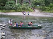 The entrance to Gunung Leuser National Park is via a river crossing by boat: by sambo_no5, Views[138]