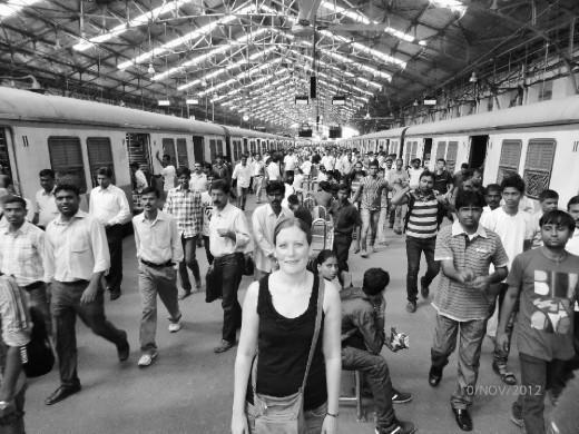 Hege at Mumbai Central