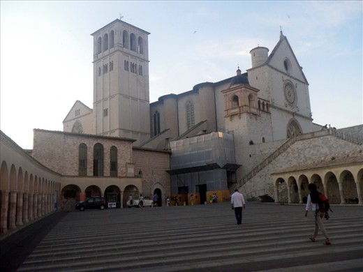 Assisi again.  The Basilica of St. Francis