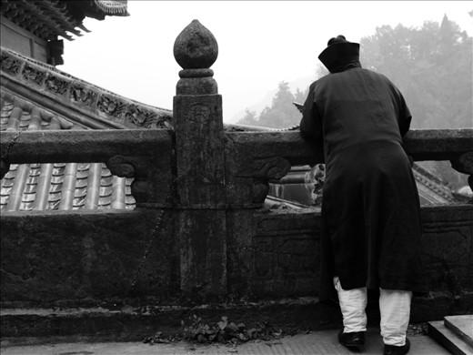 Female Daoist Monk, Purple Heaven Temple, Mount Wudang,