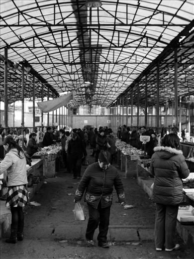 Vegetable market, Wudangshan
