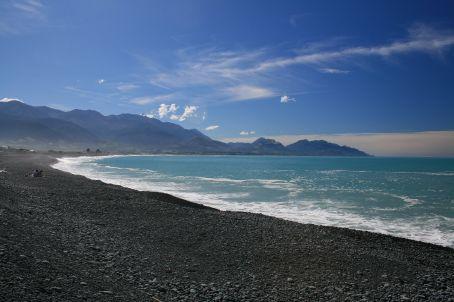Beach in Kaikoura