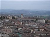 Roof tops of Gubbio, Umbria: by sandrad, Views[316]