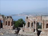 Greek Theatre, Taormina SICILY: by sandrad, Views[330]
