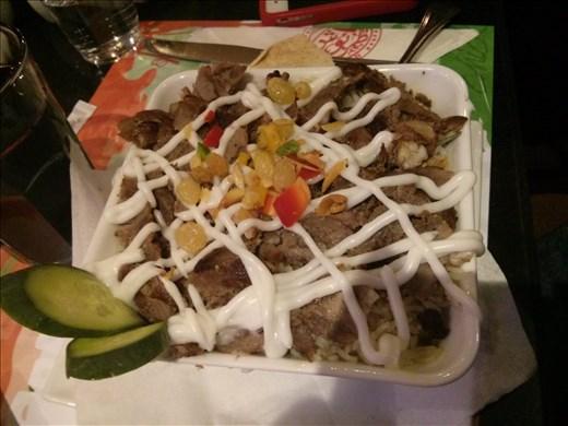 Meat Bram Rice