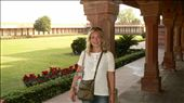 Sarah at Fatehpur Sikri: by sarahandphil, Views[428]