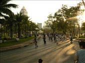 late afternoon aerobics in Lumphini park: by sarahandphil, Views[283]