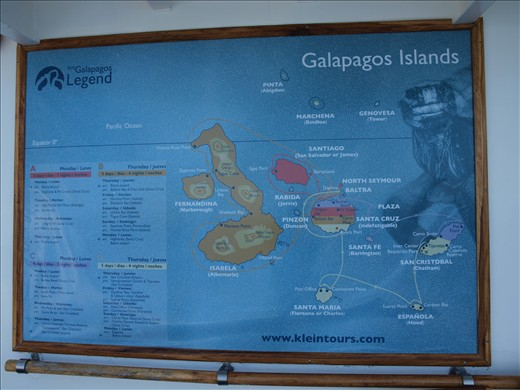 Island Map + Route