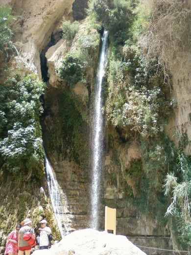Waterfall at En Gedi