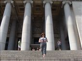 On the steps outside the Capitol building in Havana: by sarahw, Views[215]
