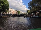 One of the many canals in Amsterdam: by schmodude, Views[176]