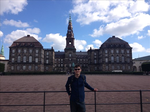 In front of Christianborg