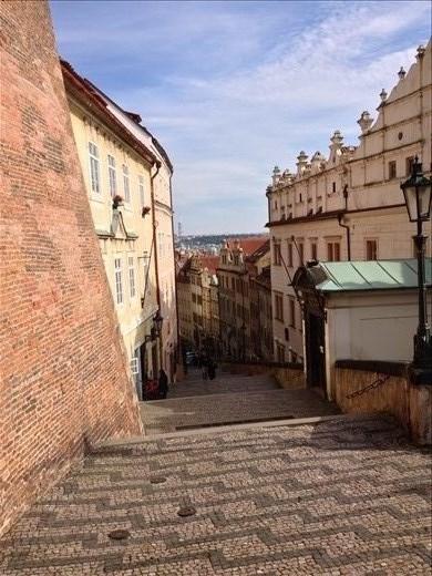 In Prague's castle district