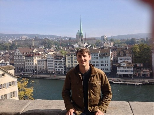 Exploring Zurich on my way to Budapest