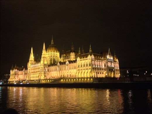 Parliment in Budapest from the Danube