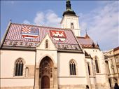 Cool church roof in Zagreb: by schmodude, Views[499]
