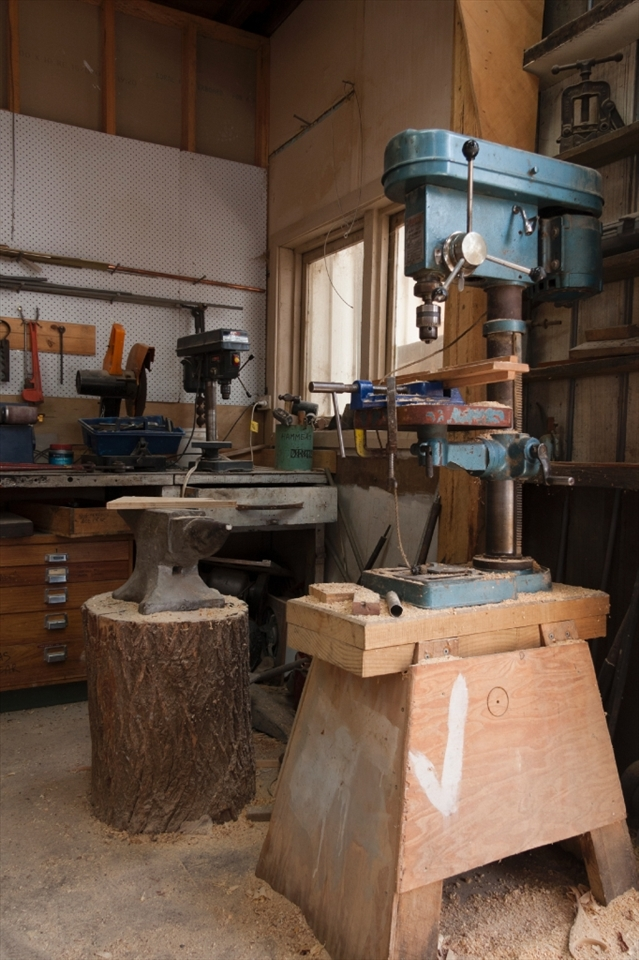 Wooden boat building is an art, each vessel is hand crafted. These are the humble tools of wooden boat builders.