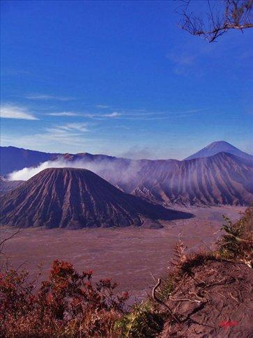 the tengger caldera peaks