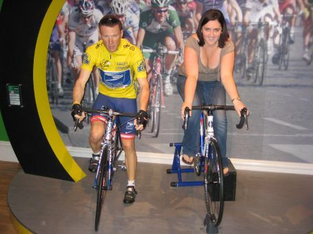 I think Im beating Lance armstrong