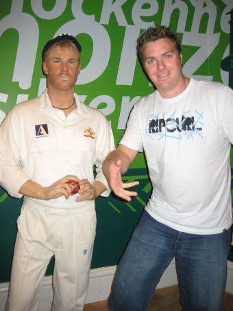 back in time with Shane Warne