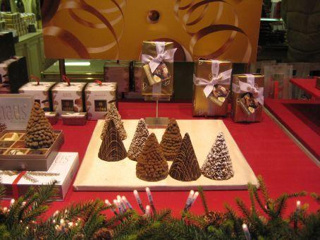 Neuhaus Chocolate Christmas trees
