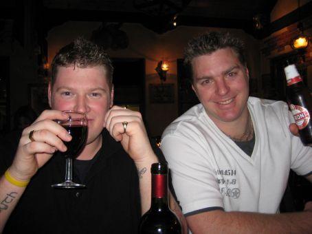 Sean and Taff