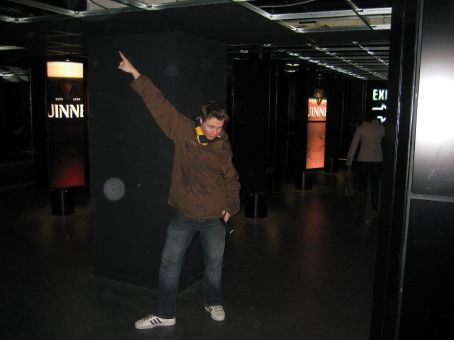 dicko busting a move to the guinness music