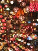 turkish lamps at the Grand Bazaar: by seanandkate, Views[2447]