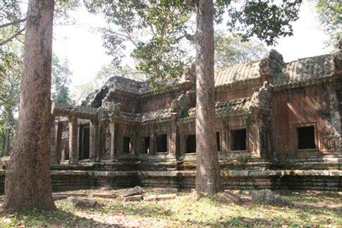 Back door Angkor Wat
