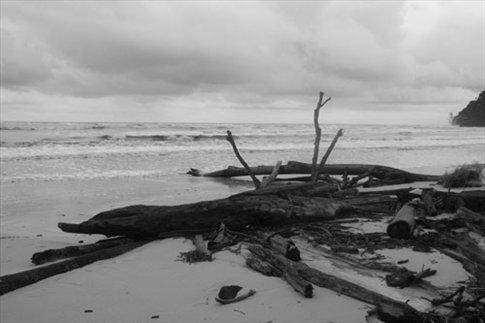 Stormy day, Similajau National Park