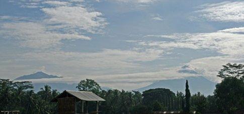 Java volcanoes, Borobudur