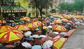 Market on a rainy Sunday: by seesea, Views[496]