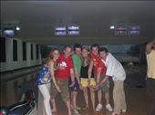 Let's bowl! (L-R Kate, Matt, Pete, Emily, Dan, Bobby): by seilerworldtour, Views[257]
