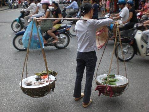 Steet Vendors in Hanoi