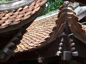 Beautifully tiled roofs at the Temple of Literature in Hanoi: by seilerworldtour, Views[205]