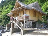 The bamboo hut on our secluded island: by seilerworldtour, Views[870]