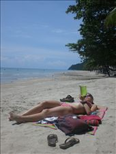 After an epic journey to get there - relaxing on the beaches of Koh Chang in Thailand: by seilerworldtour, Views[213]