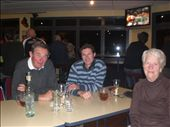 Bobby with Bill and Pam at the Whangamata Fishing Club: by seilerworldtour, Views[135]