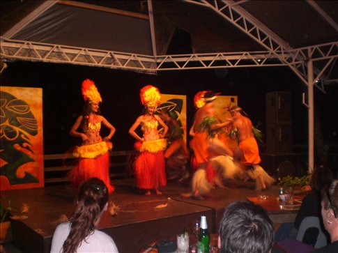 The real deal - traditional Cook Islands dancing.