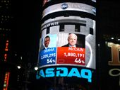 The results coming in at Times Square: by seilerworldtour, Views[135]