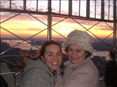 Kate's mum comes to visit. The view from the top of the Empire State Building!: by seilerworldtour, Views[100]