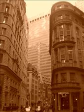 The oldest part of New York - the classic Wall Street buildings.: by seilerworldtour, Views[252]