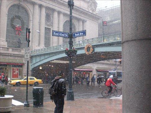 Outside Central Station